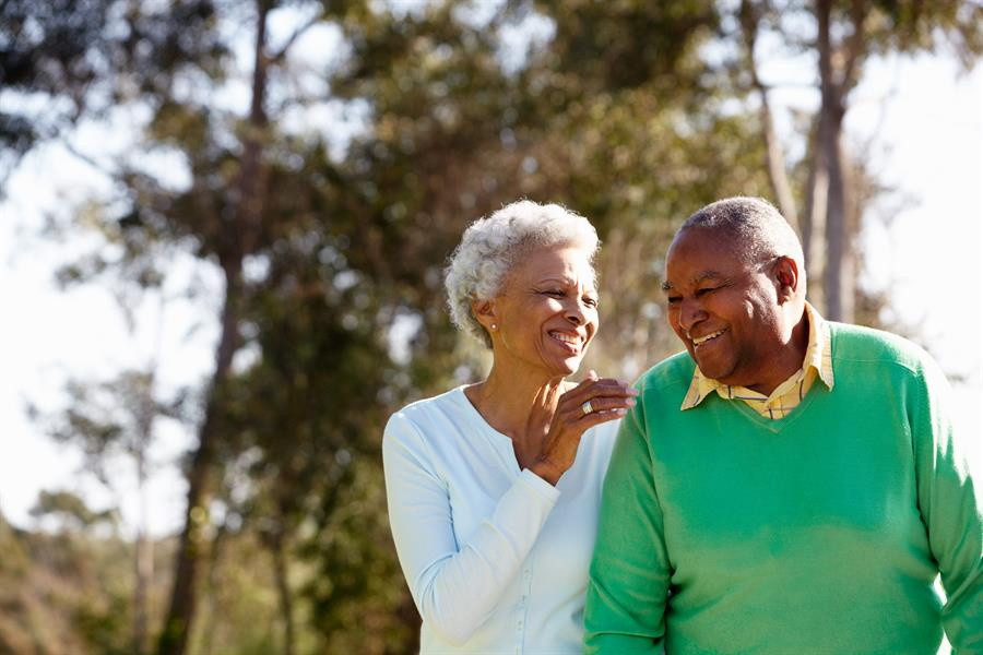 Elderly staying sexually active