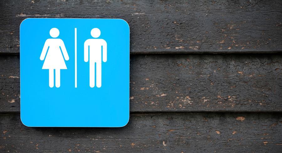 Community pee peeing type urine