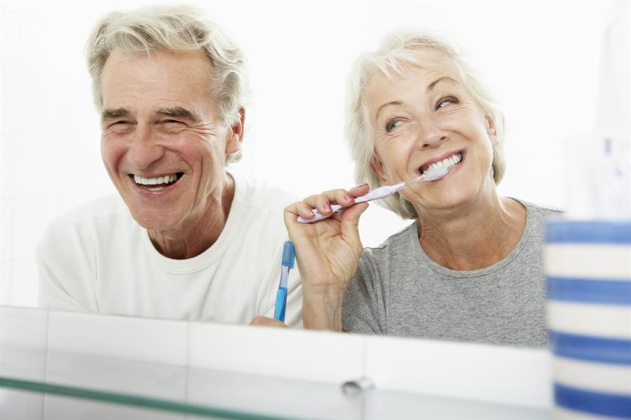 literature review oral hygiene elderly