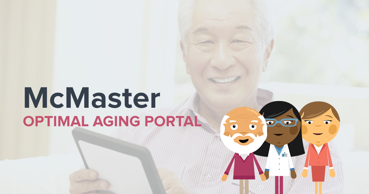 Healthy Aging with McMaster Optimal Aging Portal